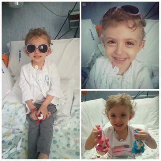 La piccola Elisa, bimba malata di leucemia
