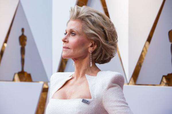 Jane Fonda Oscar 2018 Time's Up