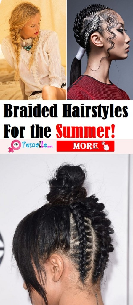 Braided Hairstyles for the summer