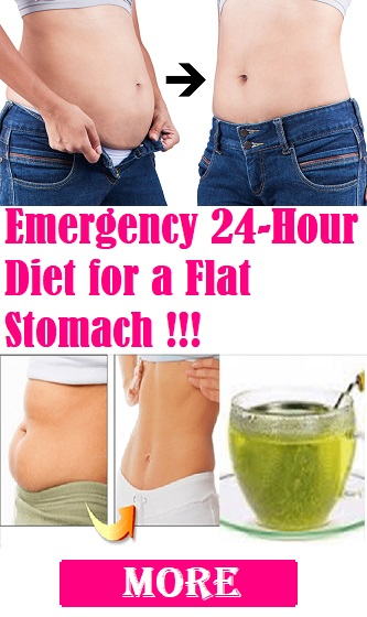 Emergency 24-Hour Diet for a Flat Stomach