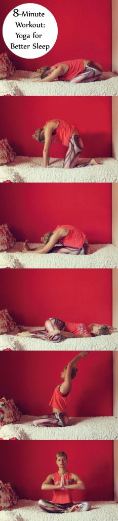 8-Minute Workout: Yoga for Better Sleep