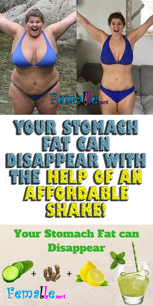 Your Stomach Fat Can Disappear With the Help of an Affordable Shake!