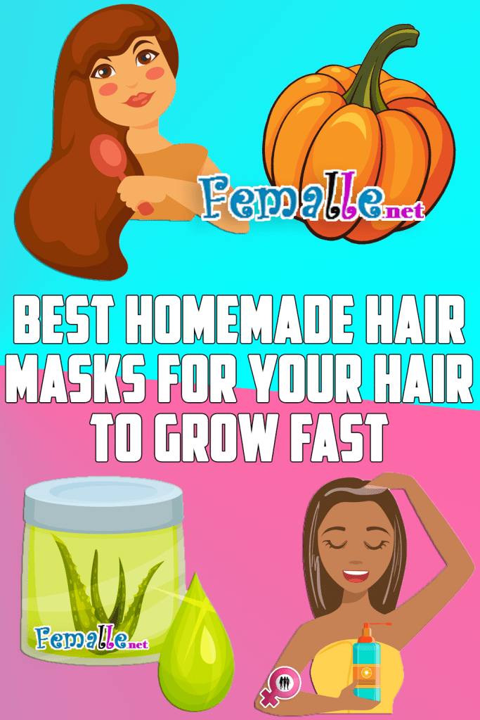 Best Homemade Hair Masks For Your Hair To Grow Fast