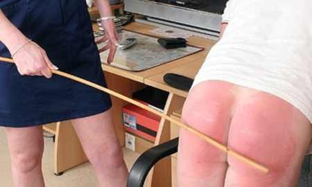 harsh caning