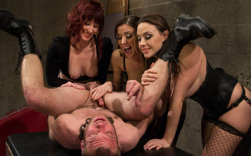 Cock milking party