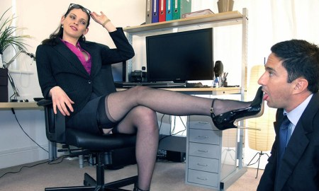 Office Shoes Licking