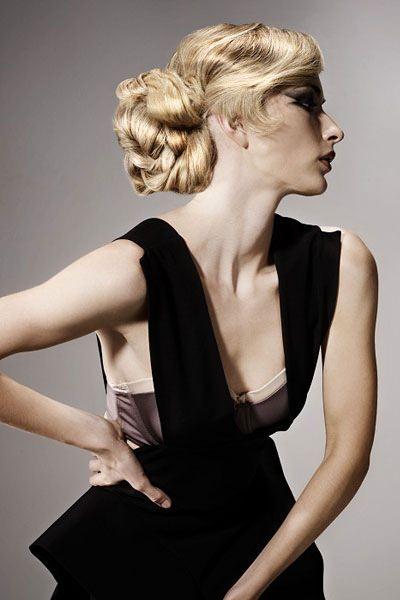 Frisuren fr lange Haare Elegante Hochsteckfrisuren