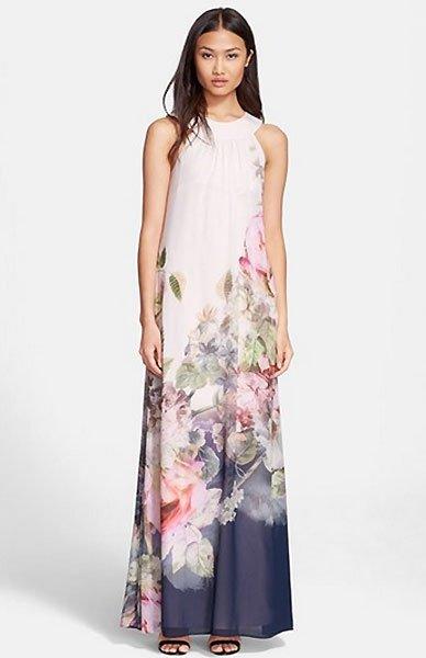 Kleider fr Hochzeitsgste MaxiKleid mit Farbverlauf
