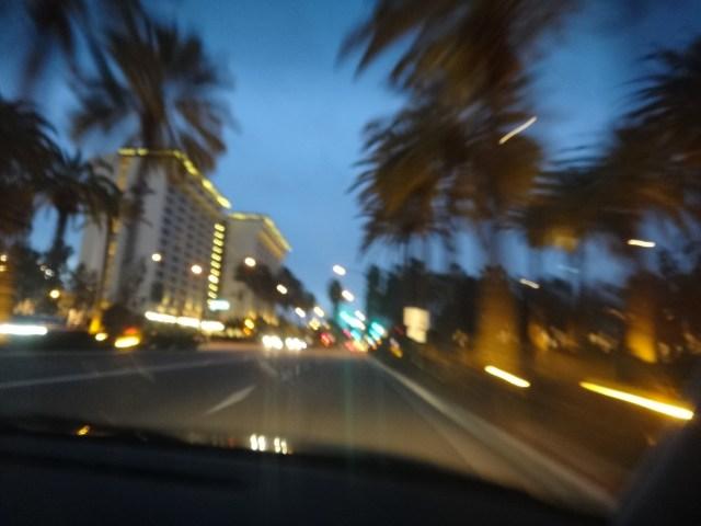Si bien la foto esta movida es porque veniamos llegando a Los Angeles mas precisamente a Disney California