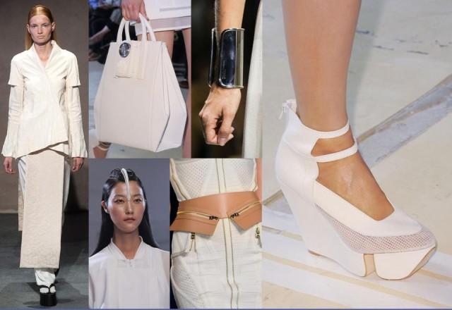 moda en blanco