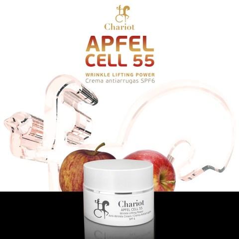 Esther-Palma-Comunicacion-crema-antiarrugas-Apfle Cell-Chariot-Cosmetics-cosmetica-española (1)