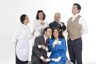 """""""Amándote en el Ritz"""" continúa en el mes de Agosto. Una obra donde  el té y el teatro convergen"""