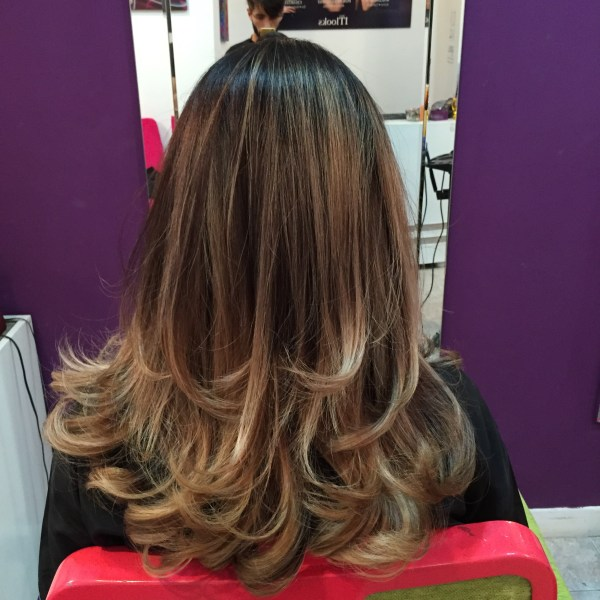 desgaste en sicodelica hair art recolera