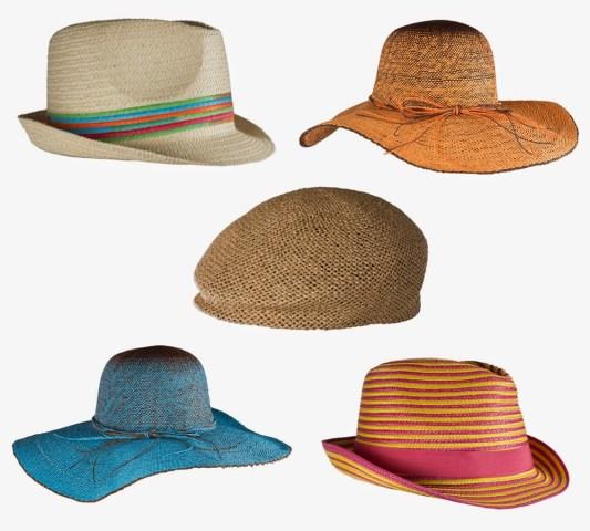 Viste tu cabeza mientras la proteges del sol con sombreros que derrochan glamour