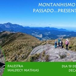 Palestra: Montanhismo Brasileiro – Passado, Presente e Futuro