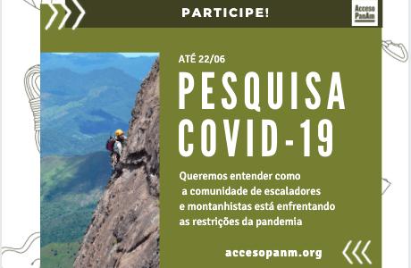Acceso PanAm – Pesquisa sobre a prática do montanhismo e da escalada no contexto do COVID-19