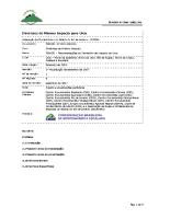 Diretrizes de Mínimo Impacto para o Monumento Natural dos Morros do Pão de Açúcar e da Urca
