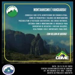 Palestra – Montanhismo é Vanguarda