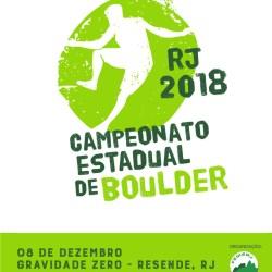 Campeonato Estadual de Boulder Rio de Janeiro – Etapa Única 08.12.2018