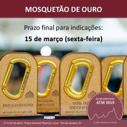 Indicação – Premiação Mosquetão de Ouro 2019