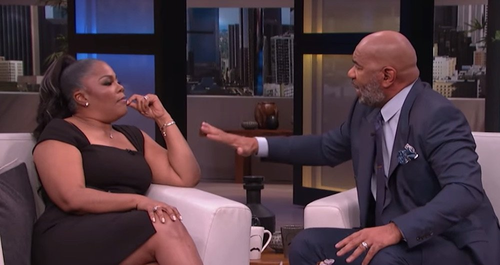 steve harvey monique interview