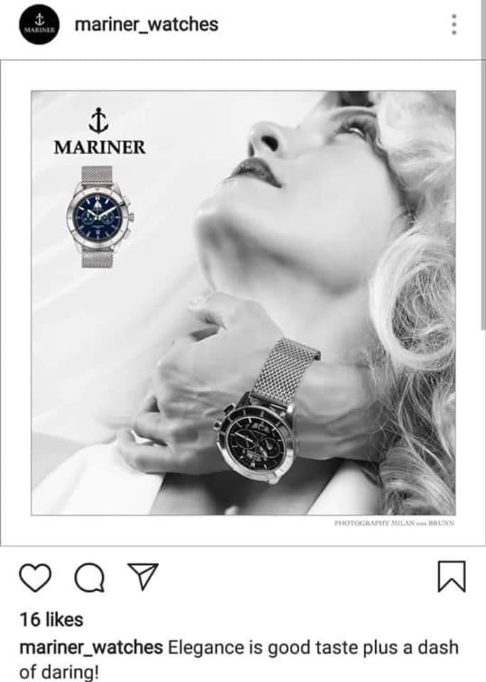 mariner watches sexist advertisement