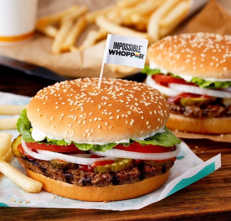impossible whopper burger king