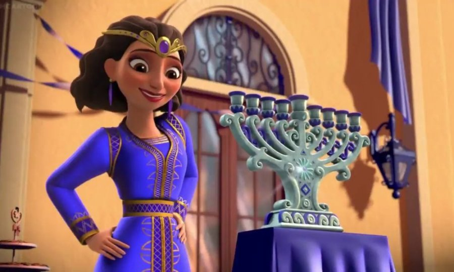 disney jewish princess