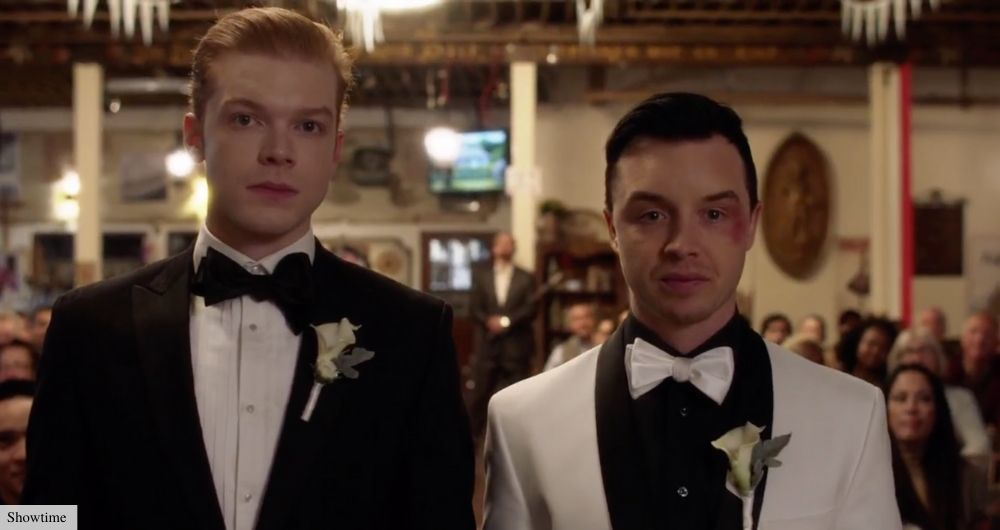 shamless ian mickey wedding