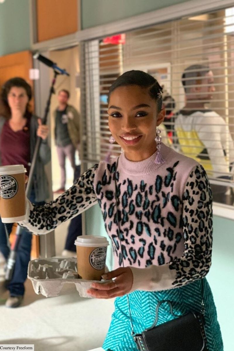 grownish zoey johnson style outfits