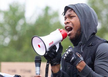 john boyega protest speech