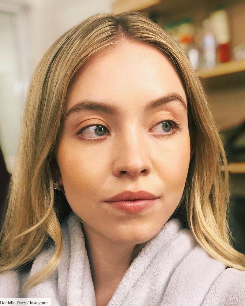 sydney sweeney makeup aesthetic