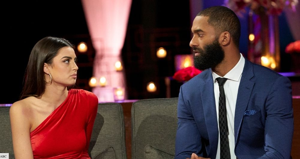 what happened with matt and rachel on the bachelor