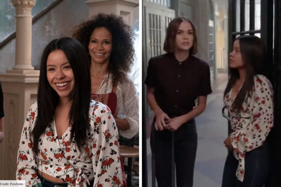mariana good trouble style outfits