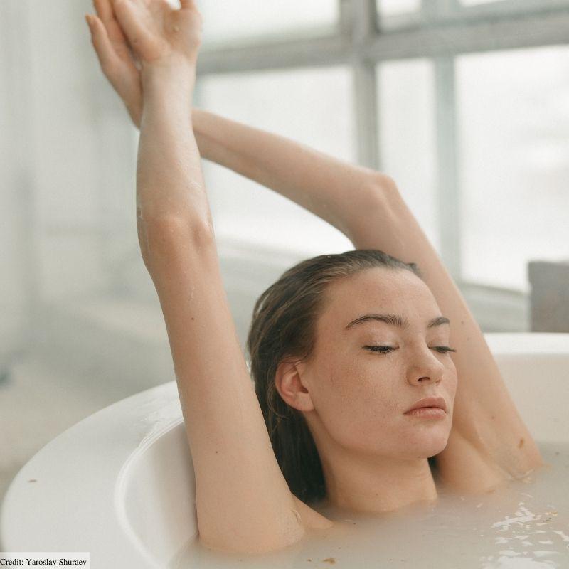 are milk baths safe