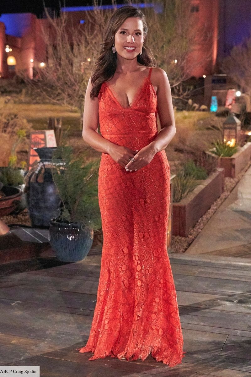 what katie wore on the bachelorette