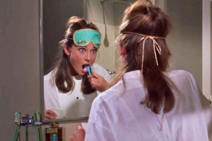tv characters teeth brushing