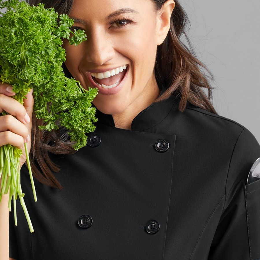 chef jackets for women