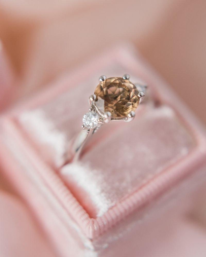 unique vintage engagement rings for women