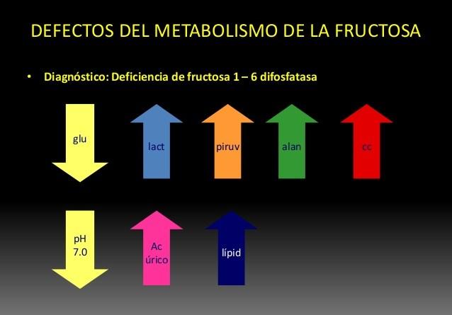 Deficiencia de fructosa-1,6 difosfatasa