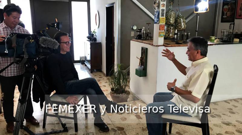 Noticieros Televisa entrevista a FEMEXER