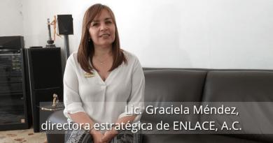 Lic. Graciela Méndez, directora estratégica de Enlace A.C. Distrofia muscular de Duchenne y de Becker
