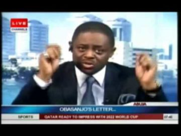 FEMI FANI-KAYODE ON OBASANJO'S LETTER TO PRESIDENT JONATHAN