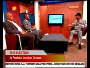 Jonathan's Declaration: Femi Fani Kayode Shares His Thoughts With Gbenga Aruleba