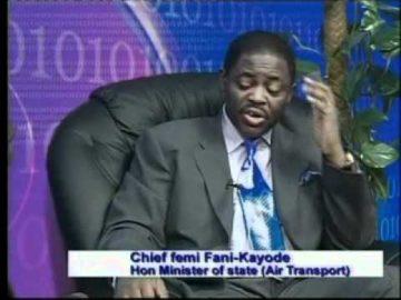 Femi Fani-Kayode, former Minister of Aviation, on Ben TV, U.K. 2007 Pt 2.flv (Aug 5, 2011)