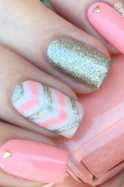 simple summer nail design