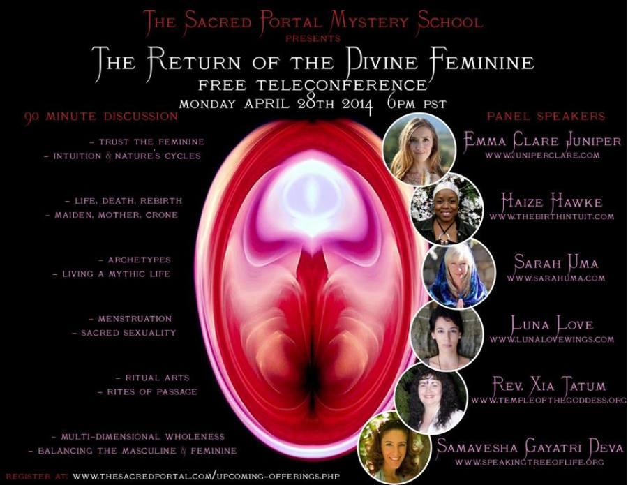 Return of the Divine Feminine Teleconference