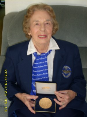 Kathleen recieves the Congressional Gold Medal