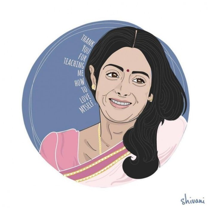 """""""Thank you for teaching me how to love myself."""" —Shashi, played by Sridevi in English Vinglish (2012)"""