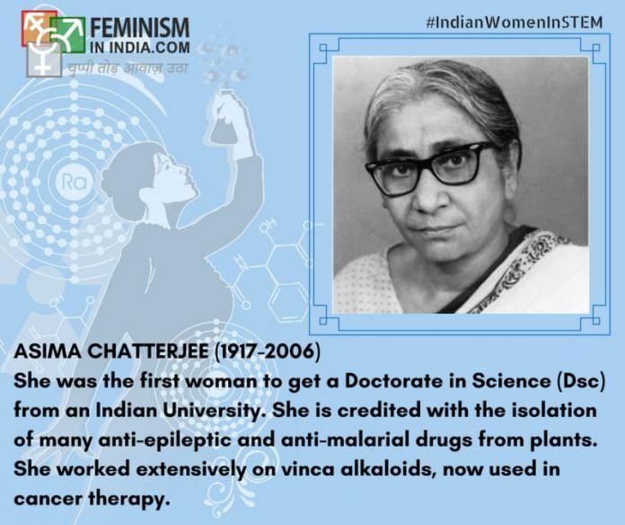Asima Chatterjee (1917-2006)